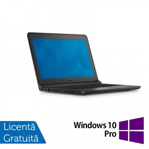 Laptop DELL Latitude 3350, Intel Core i5-5200U 2.20GHz, 4GB DDR3, 320GB SATA, Wireless, Bluetooth, Webcam, 13.3 Inch + Windows 10 Pro, Refurbished