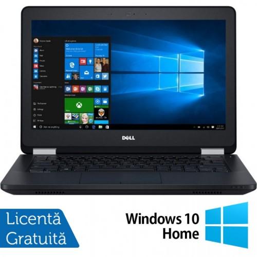 Laptop DELL Latitude E5270, Intel Core i5-6300U 2.40GHz, 8GB DDR4, 240GB SSD, 12.5 Inch + Windows 10 Home, Refurbished