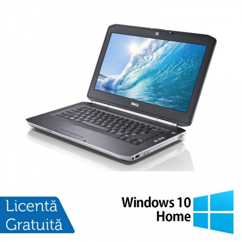Laptop DELL Latitude E5420, Intel Core i3-2350M 2.30GHz, 4GB DDR3, 250GB SATA, DVD-RW, 14 Inch + Windows 10 Home, Refurbished