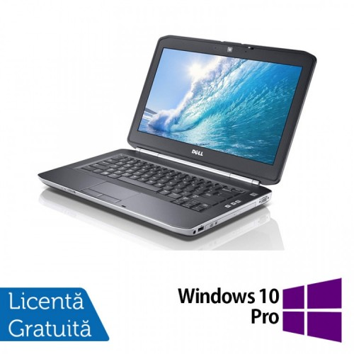 Laptop DELL Latitude E5420, Intel Core i3-2350M 2.30GHz, 4GB DDR3, 250GB SATA, DVD-RW, 14 Inch + Windows 10 PRO, Refurbished