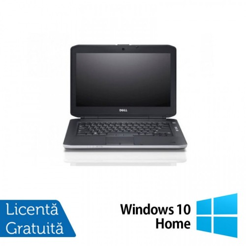 Laptop DELL Latitude E5430, Intel Core i3-3110M 2.40GHz, 4GB DDR3, 320GB SATA + Windows 10 Home, Refurbished