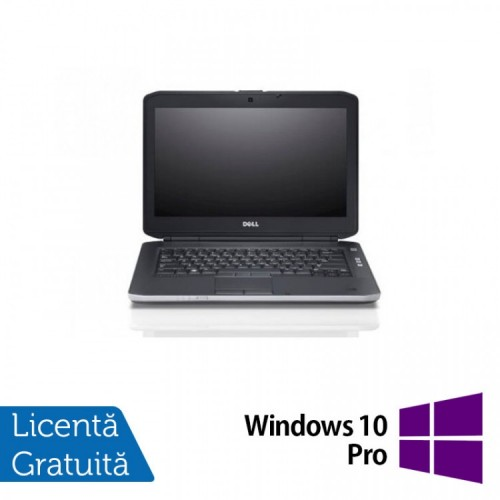 Laptop DELL Latitude E5430, Intel Core i3-3120M 2.50GHz, 8GB DDR3, 120GB SSD, DVD-RW + Windows 10 Pro, Refurbished