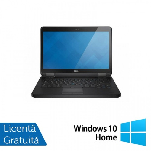 Laptop DELL Latitude E5440, Intel Core i5-4300U 1.90GHz, 4GB DDR3, 500GB SATA, 14 Inch + Windows 10 Home, Refurbished