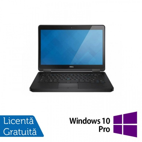 Laptop DELL Latitude E5440, Intel Core i5-4300U 1.90GHz, 4GB DDR3, 500GB SATA, 14 Inch + Windows 10 PRO, Refurbished