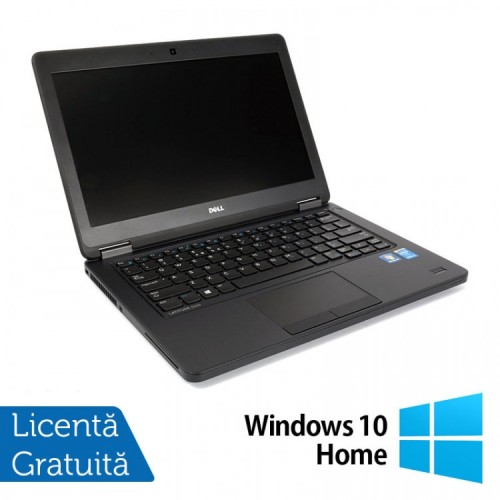 Laptop DELL Latitude E5450, Intel Core i3-5010U 2.10GHz, 4GB DDR3, 120GB SSD, 14 Inch + Windows 10 Home, Refurbished