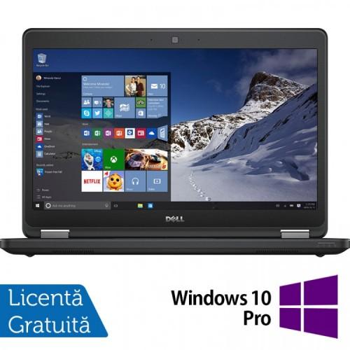 Laptop DELL Latitude E5470, Intel Core i5-6200U 2.30GHz, 8GB DDR4, 120GB SSD, 14 Inch + Windows 10 Pro, Refurbished