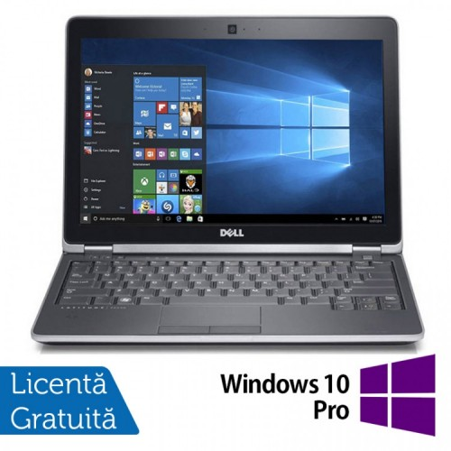 Laptop DELL Latitude E6230, Intel Core i3-2350M 2.30GHz, 4GB DDR3, 120GB SSD + Windows 10 Pro, Refurbished