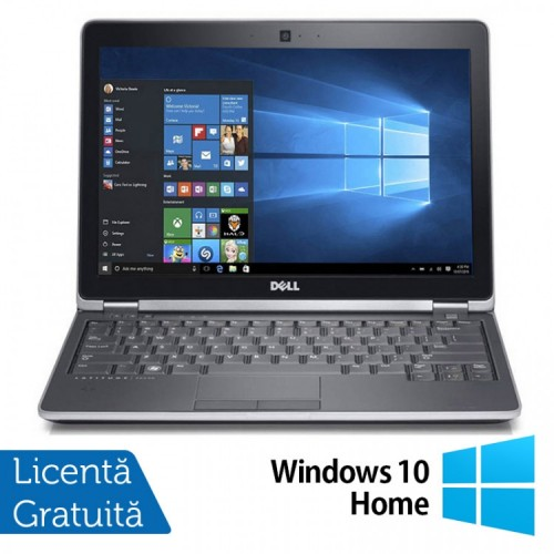 Laptop DELL Latitude E6230, Intel Core i3-2350M 2.30GHz, 4GB DDR3, 120GB SSD + Windows 10 Home, Refurbished