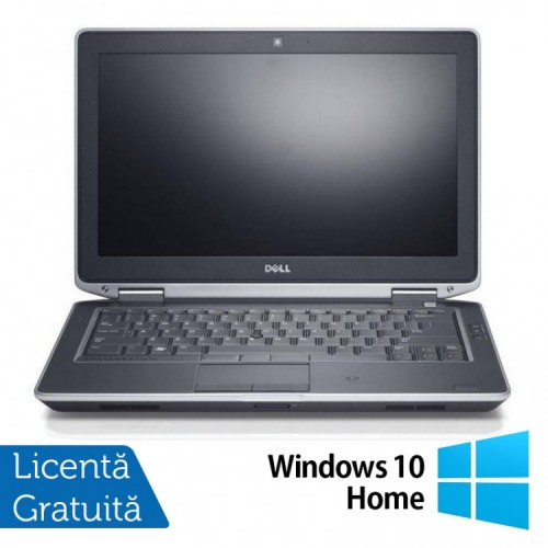 Laptop DELL Latitude E6330, Intel i5-3340M 2.70GHz, 8GB DDR3, 120GB SSD, DVD-RW + Windows 10 Home, Refurbished
