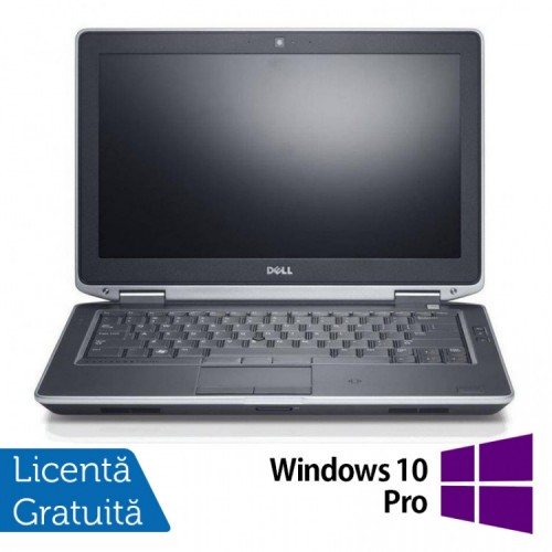Laptop DELL Latitude E6330, Intel i5-3340M 2.70GHz, 8GB DDR3, 120GB SSD, DVD-RW + Windows 10 Pro, Refurbished