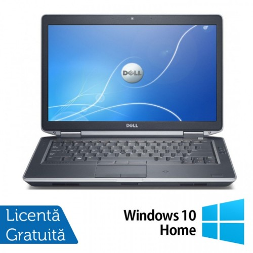 Laptop DELL Latitude E6430, Intel Core i5-3340M 2.70GHz, 4GB DDR3, 120GB SSD, DVD-RW + Windows 10 Home, Refurbished