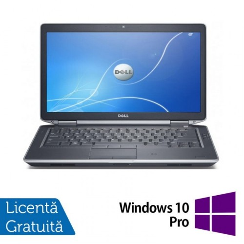 Laptop DELL Latitude E6430, Intel Core i5-3340M 2.70GHz, 4GB DDR3, 320GB SATA, DVD-RW, 14 Inch + Windows 10 Pro, Refurbished