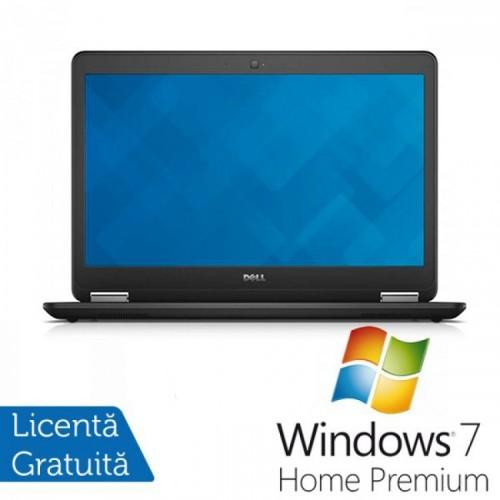 Laptop DELL Latitude E7440, Intel Core i7-4600U 2.10 GHz, 8GB DDR3, 256GB SSD + Windows 7 Home Premium