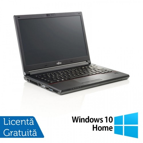 Laptop Fujitsu Lifebook E546, Intel Core i3-6006U 2.00GHz, 8GB DDR4, 240GB SSD, Webcam, 14 Inch + Windows 10 Home, Refurbished