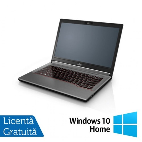 Laptop Fujitsu Lifebook E744, Intel Core i5-4200M 2.50GHz, 8GB DDR3, 120GB SSD, 14 Inch + Windows 10 Home, Refurbished