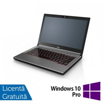 Laptop Fujitsu Lifebook E744, Intel Core i5-4200M 2.50GHz, 8GB DDR3, 120GB SSD, 14 Inch + Windows 10 Pro, Refurbished