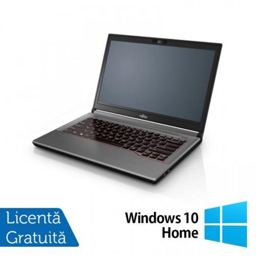 Laptop Fujitsu Lifebook E744, Intel Core i5-4210M 2.60GHz, 8GB DDR3, 120GB SSD, 14 Inch, DVD-RW + Windows 10 Home, Refurbished