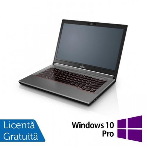 Laptop Fujitsu Lifebook E744, Intel Core i5-4210M 2.60GHz, 8GB DDR3, 120GB SSD, 14 Inch, DVD-RW + Windows 10 Pro, Refurbished
