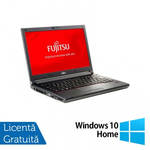 Laptop Fujitsu Lifebook E746, Intel Core i3-6100U 2.30GHz, 8GB DDR4, 240GB SSD, 14 Inch, Webcam + Windows 10 Home, Refurbished
