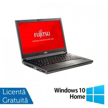 Laptop Fujitsu Lifebook E746, Intel Core i5-6200U 2.30GHz, 8GB DDR4, 240GB SSD, 14 Inch + Windows 10 Home, Refurbished