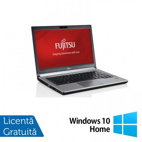 Laptop FUJITSU SIEMENS E734, Intel Core i5-4300M 2.60GHz, 8GB DDR3, 120GB SSD, 13.2 inch + Windows 10 Home, Refurbished