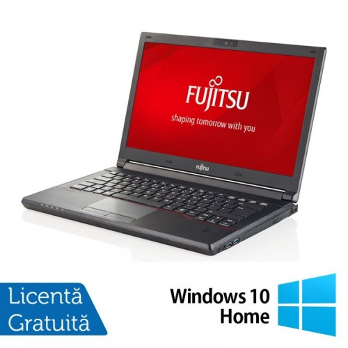 Laptop FUJITSU SIEMENS Lifebook E544, Intel Core i3-4000M 2.40GHz, 16GB DDR3, 500GB HDD, 14 Inch + Windows 10 Home, Refurbished