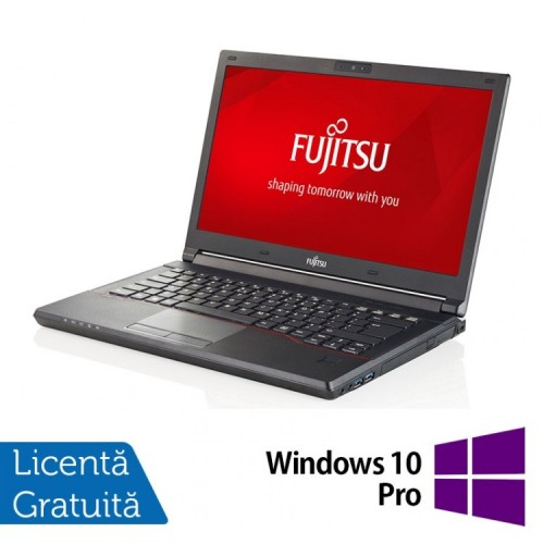 Laptop FUJITSU SIEMENS Lifebook E544, Intel Core i3-4000M 2.40GHz, 16GB DDR3, 500GB HDD, 14 Inch + Windows 10 Pro, Refurbished
