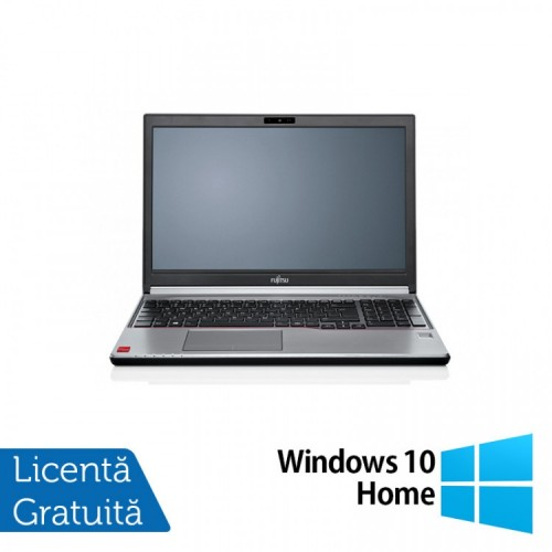 Laptop FUJITSU SIEMENS Lifebook E754, Intel Core i5-4200M 2.50GHz, 8GB DDR3, 240GB SSD, DVD-RW, 15.6 Inch + Windows 10 Home, Refurbished