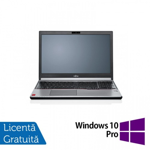 Laptop FUJITSU SIEMENS Lifebook E754, Intel Core i5-4200M 2.50GHz, 8GB DDR3, 512GB SSD, DVD-RW, 15.6 Inch + Windows 10 Pro, Refurbished
