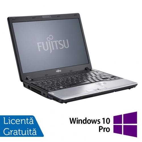 Laptop FUJITSU SIEMENS P702, Intel Core i5-3320M 2.60GHz, 8GB DDR3, 120GB SSD, 12.1 Inch + Windows 10 Pro, Refurbished