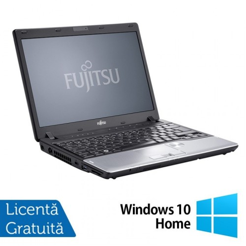 Laptop FUJITSU SIEMENS P702, Intel Core i5-3320M 2.60GHz, 8GB DDR3, 120GB SSD, 12.1 Inch + Windows 10 Home, Refurbished