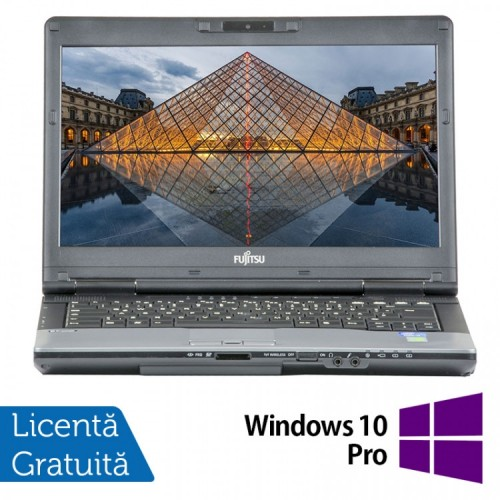 Laptop FUJITSU SIEMENS S782, Intel Core i7-3612QM 2.10GHz, 8GB DDR3, 240GB SSD, DVD-RW, 14 Inch, Webcam + Windows 10 Pro, Refurbished