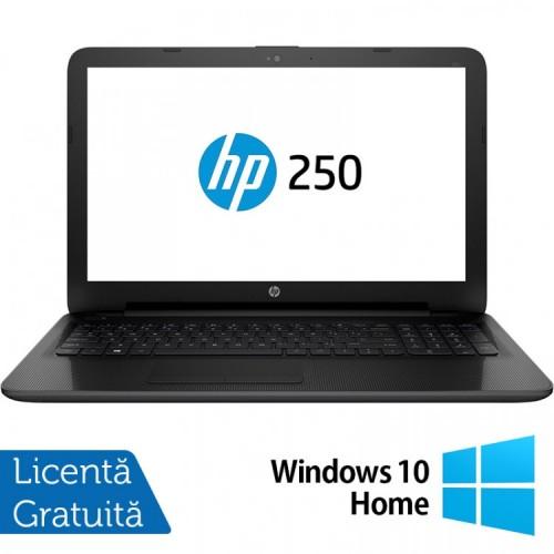 Laptop HP 250 G4, Intel Core i3-4005U 1.70GHz, 4GB DDR3, 1TB SATA, DVD-RW, 15.6 Inch, Tastatura Numerica, Webcam + Windows 10 Home, Refurbished