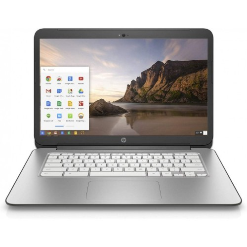 Laptop HP Chromebook 14-x001nd, Procesor Nvidia Tegra K1 1.60GHz, 2GB DDR3, 16GB SSD, 14 Inch HD, Webcam, Chrome OS, Second Hand