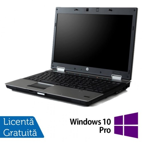 Laptop HP EliteBook 8540p, Intel Core i5-540M 2.53GHz, 4GB DDR3, 320GB SATA, DVD-ROM, 15.6 Inch, nVidia Quadro NVS 5100 + Windows 10 Pro, Refurbished