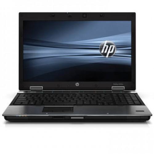 "Laptop HP Elitebook 8540w I5-520M 2.4Ghz 4GB DDR3 250GB HDD Sata DVDRW 15.6"" NVIDIA Quadro NVS 1800M - 1 GB + Windows 7 Home"