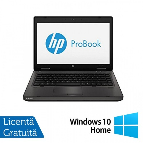 Laptop HP ProBook 6470b, Procesor Intel Core i5-3340M 2.70GHz, 8GB DDR3, 120GB SSD, DVD-RW, Webcam + Windows 10 Home, Refurbished