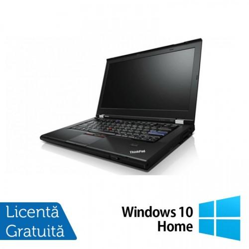 Laptop Lenovo T420, Intel Core i7-2620M 2.70GHz, 4GB DDR3, 500GB SATA, DVD-RW, 14 Inch, Webcam + Windows 10 Home, Refurbished