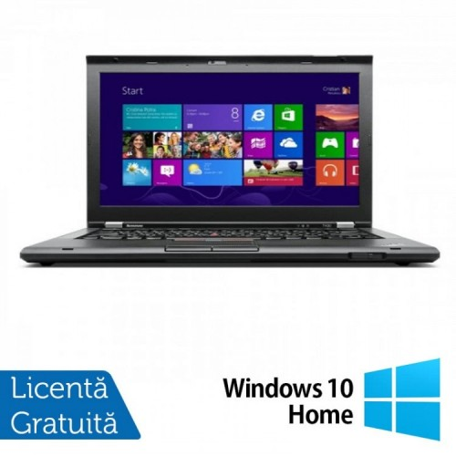 Laptop LENOVO ThinkPad T430, Intel Core i5-3320M 2.60GHz, 4GB DDR3, 120GB SSD, 14 Inch + Windows 10 Home, Refurbished