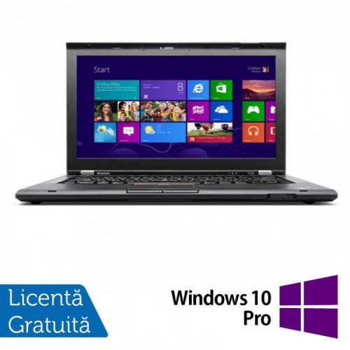 Laptop LENOVO ThinkPad T430, Intel Core i5-3320M 2.60GHz, 4GB DDR3, 500GB SATA, 14 Inch + Windows 10 Pro, Refurbished
