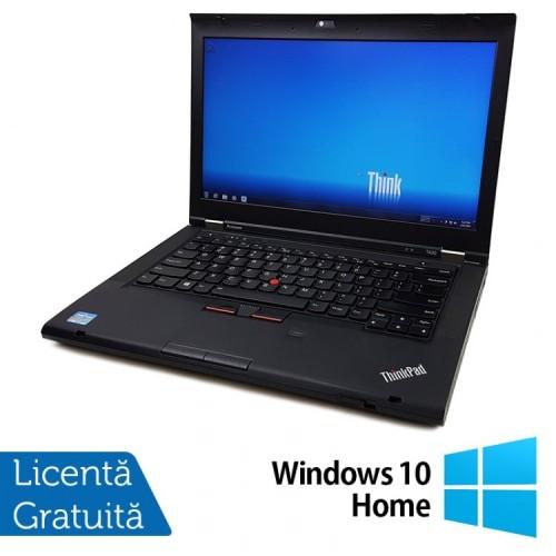 Laptop LENOVO ThinkPad T430, Intel Core i5-3320M 2.60GHz, 8GB DDR3, 320GB SATA, DVD-RW + Windows 10 Home, Refurbished