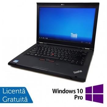 Laptop LENOVO ThinkPad T430, Intel Core i5-3320M 2.60GHz, 8GB DDR3, 320GB SATA, DVD-RW + Windows 10 Pro, Refurbished