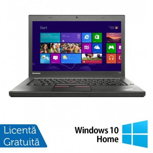 Laptop LENOVO ThinkPad T450, Intel Core i5-5300U 2.30GHz, 8GB DDR3, 240GB SSD + Windows 10 Home