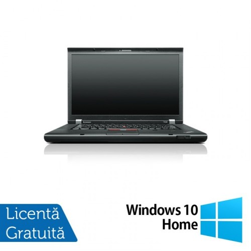 Laptop LENOVO ThinkPad T530, Intel Core i5-3320M 2.60 GHz, 8GB DDR3, 320GB SATA, DVD-RW, 15 Inch + Windows 10 Home, Refurbished