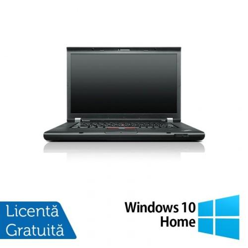 Laptop LENOVO ThinkPad T530, Intel Core i5-3320M 2.60 GHz, 8GB DDR3, 320GB SATA, DVD-RW, 15 Inch + Windows 10 Home, Refurbished