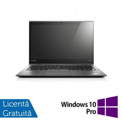 Laptop Lenovo ThinkPad X1 CARBON, Intel Core i5-3427U 1.80GHz, 8GB DDR3, 180GB SSD, 14 Inch + Windows 10 Pro, Refurbished