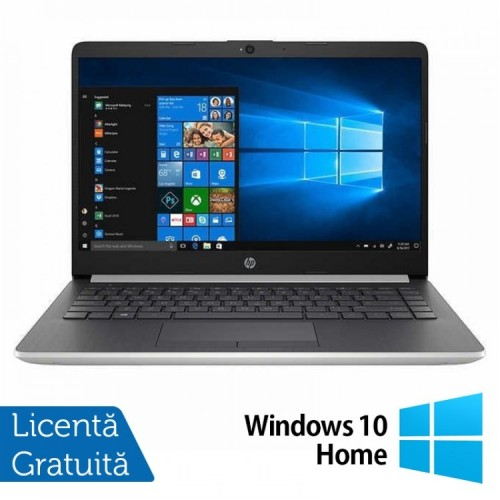 Laptop Nou HP 14-DF0023CL, Intel Core i3-8130U 2.20GHz, 4GB DDR4, 128GB M.2 SSD, 14 Inch Full HD IPS LED + Windows 10 Home