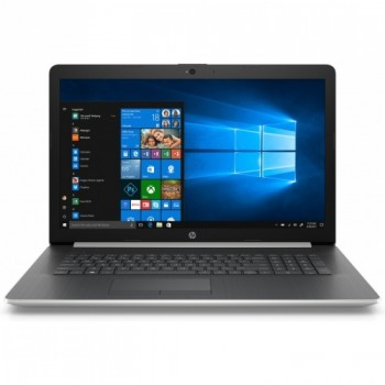 Laptop Nou HP 17-BY0062CL, Intel Core i5-8250U 1.60GHz, 8GB DDR4, 1TB SATA, Intel UHD Graphics 620, Card Reader, DVD-Writer, 17.6 Inch HD+ BrightView Display, Webcam HD