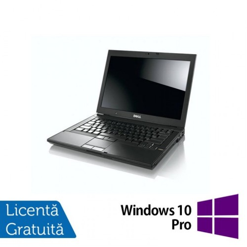 Laptop Refurbished DELL E6410, Intel Core i5-560M, 2.66 GHz, 4GB DDR3, 160GB SATA, DVD-RW + Windows 10 Pro