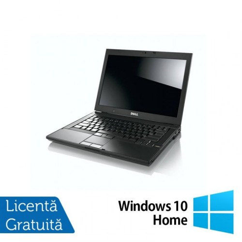 Notebook Refurbished Dell E6410, Intel Core i5-560M, 2.67GHz, 4GB DDR3, 320GB SATA, DVD-RW, 14 inch LCD + Windows 10 Home